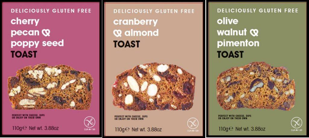 KENT & FRASER new gluten free TOAST cracker