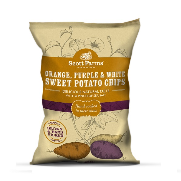 ... its newly launched Orange, Purple and White Sweet Potato Chips