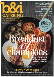 b&i august 2016 - front cover
